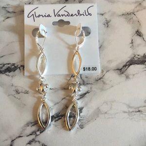Gloria Vanderbilt dangle earrings